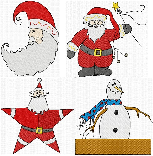 Raggedy Santas