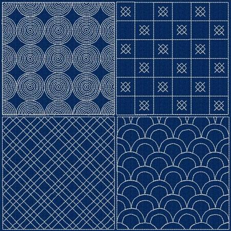 Sashiko Designs II