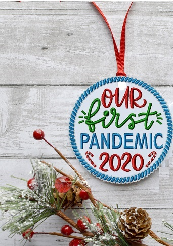2020 Christmas Ornament & Coasters