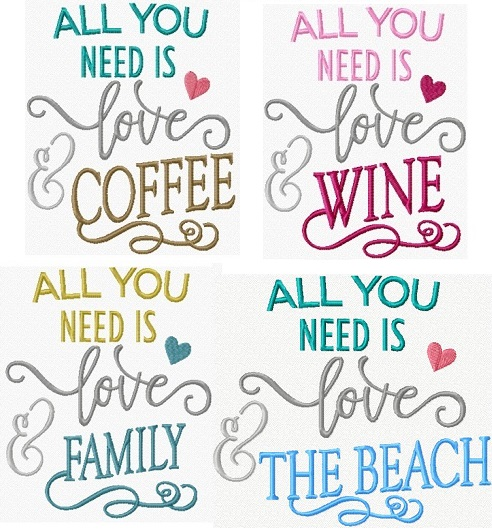 All you Need Is I