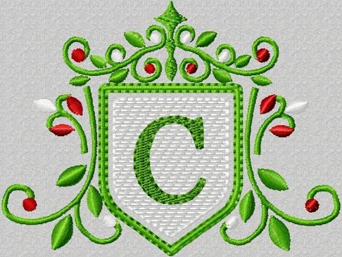 Alphabet-Tudor Monogram