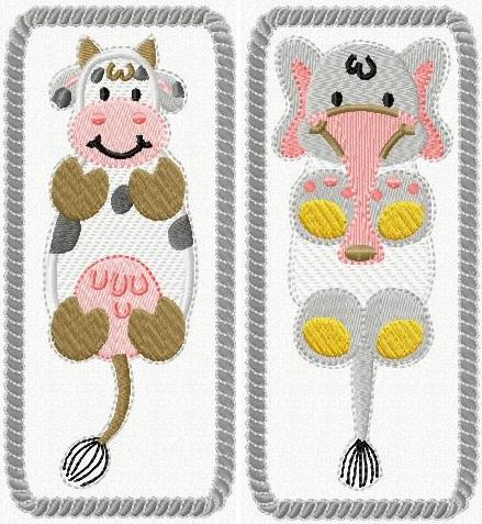 Animal Bookmarks I