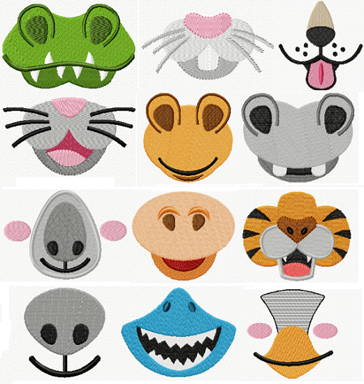 Animal Faces I