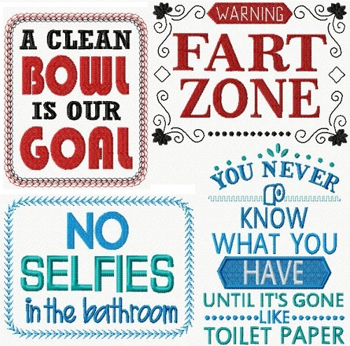 Bathroom Humor II