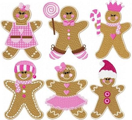 Christmas Gingerbread Girls