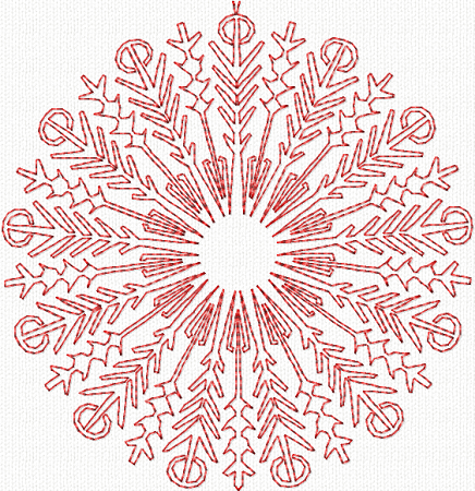 CL-Winter Snowflakes