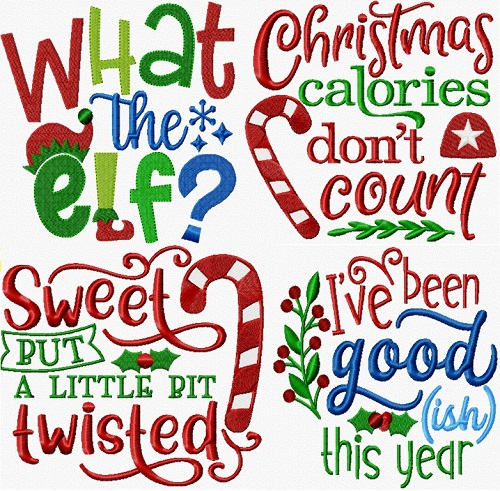 Christmas Lettering V