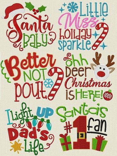 Christmas Lettering I