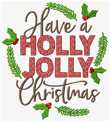 Christmas Lettering XI