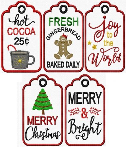 Christmas Tag Hangers