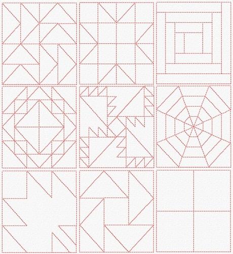 Classic Quilt Blocks I