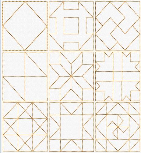 Classic Quilt Blocks II