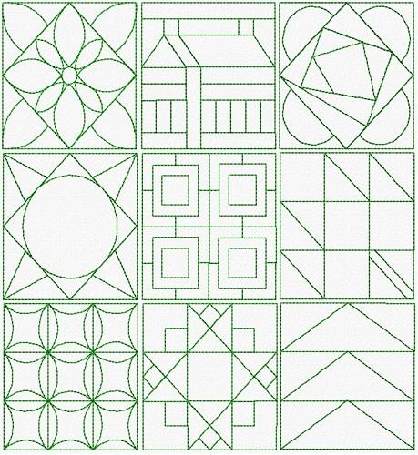Classic Quilt Blocks III