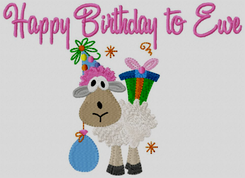 Ewe Happy Birthday