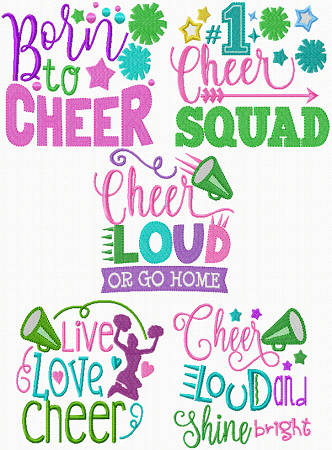 Exclusive Cheer Designs