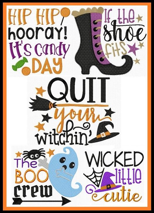 Fun Halloween Sayings I
