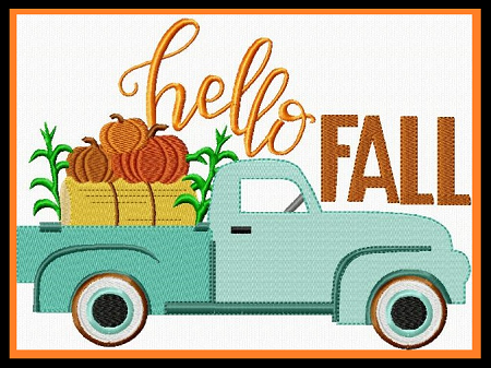 Fall Pumpkin Truck II