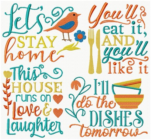 Kitchen Sayings IX