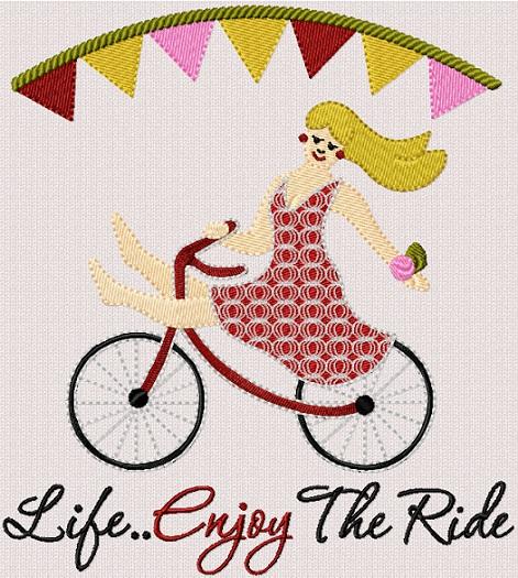 Life Enjoy The Ride I