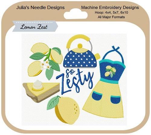 Lemon Zest I