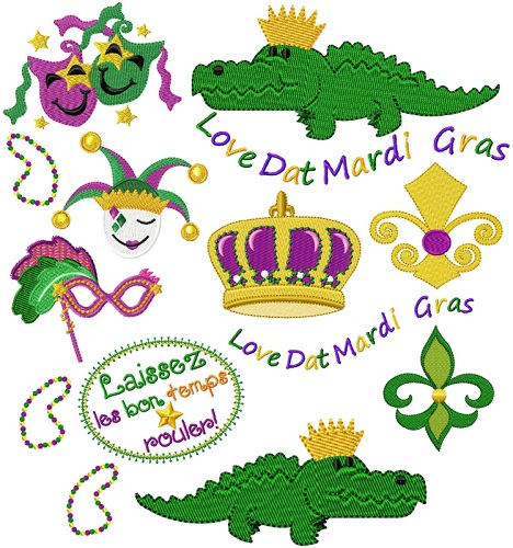 Mardi Gras Collection I