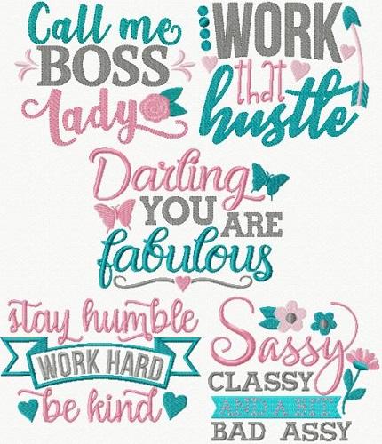 Sassy Motivational Ladies