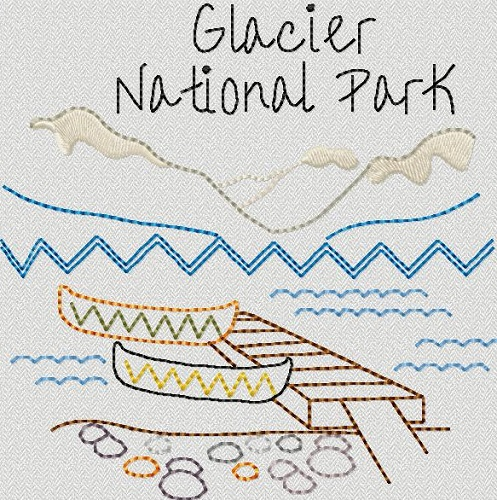 National Park Glacier