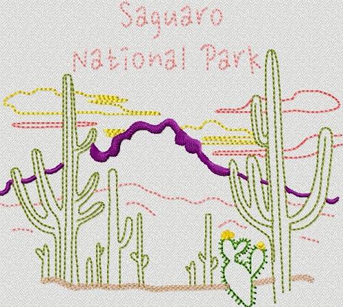 National Park Saguaro