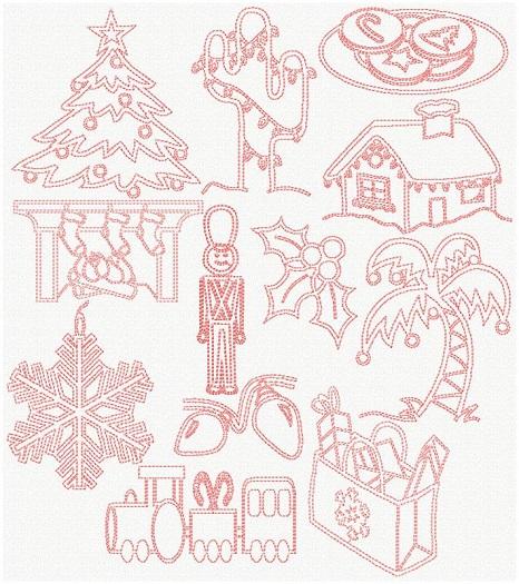 Pinkwork Christmas