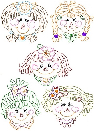 Ragdoll Faces