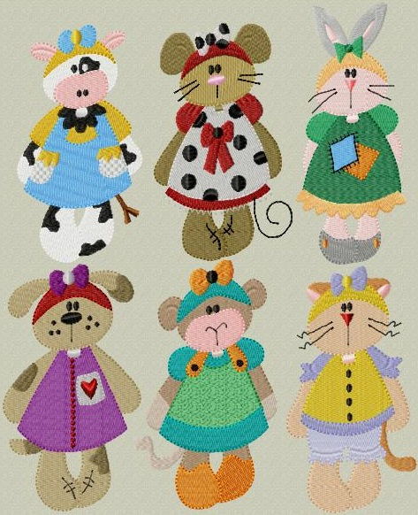 Raggedy Critters