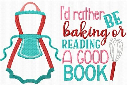 Reading Pillow Baking