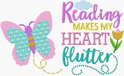 Reading Pillow Butterfly
