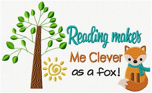 Reading Pillow Fox