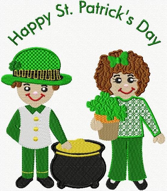 Rosie & Robbie St. Patrick's Day