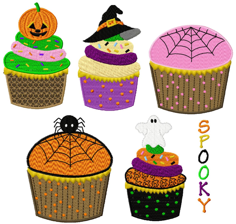 scary halloween cupcakes - Scary Halloween Cupcake Ideas