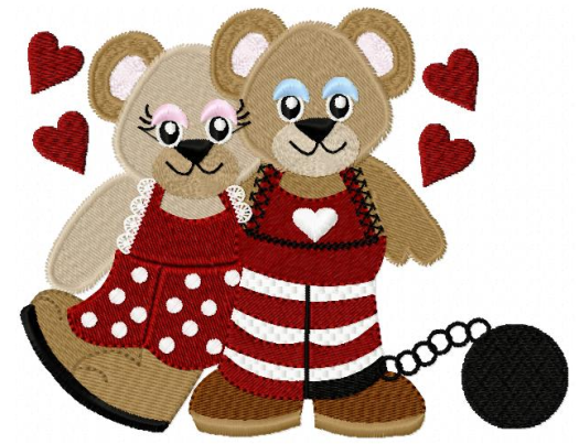 Sweetheart Valentine Bears