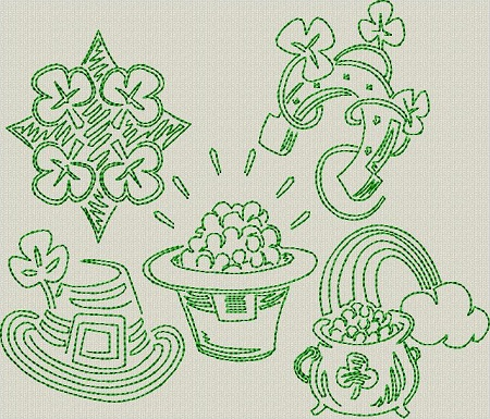 St. Patrick's Day Sketches