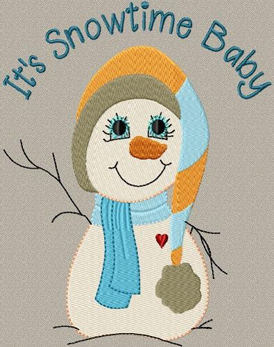 It's Snowtime Baby