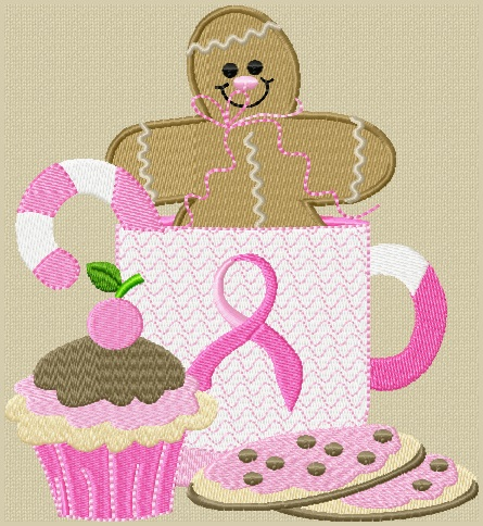Think Pink Gingerbread