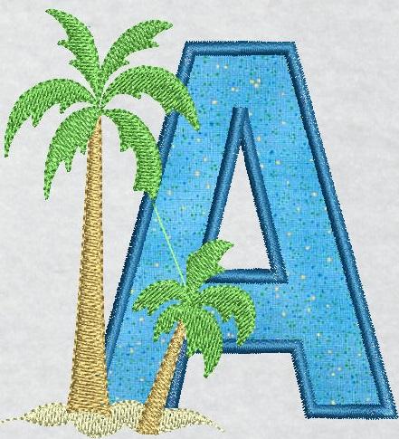 Alphabet Tropical