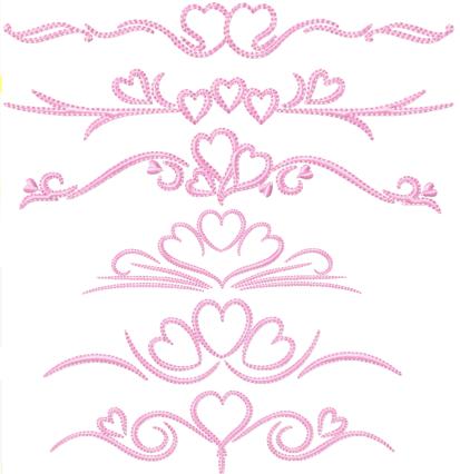 Valentine Borders I