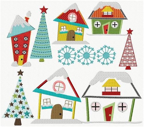Whimsical Christmas I