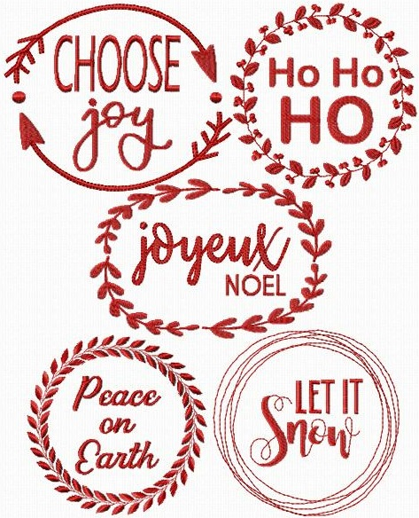 Wreaths Of Christmas