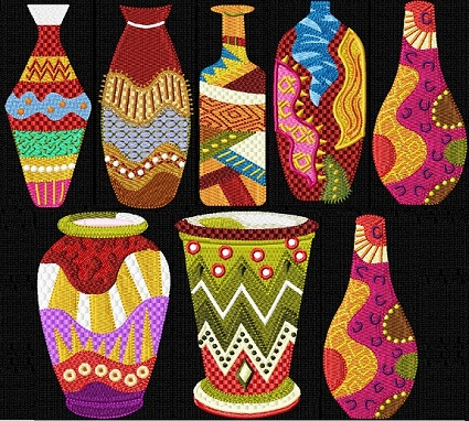 African Vases