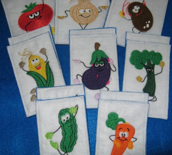 Dancing Vegetables